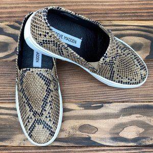 Steve Madden Sneaker Slip-On Symba Taupe 6.5
